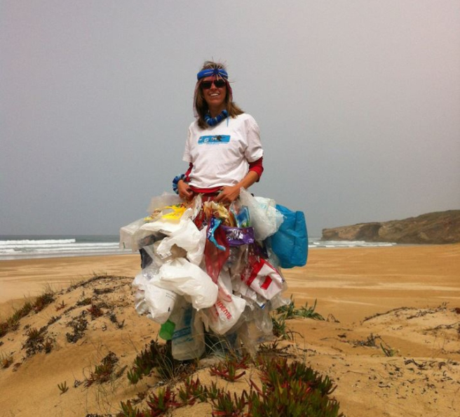 Outfit for Surfrider beach clean