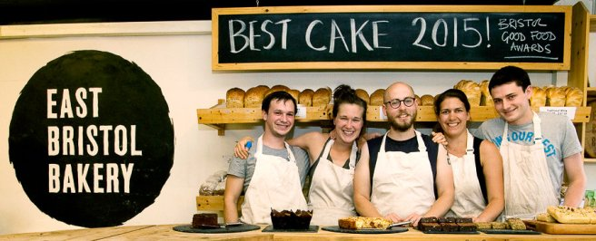 The team at East Bristol Bakery