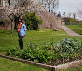 Within 5 minutes of leaving the station, Rebecca was blown away by Incredible Edible in Castle Park