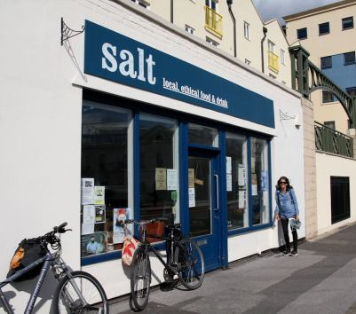 Salt cafe, another Refill Station. #refillbristol
